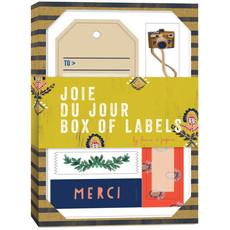 Chronicle Books Joie du Jour Box of Labels