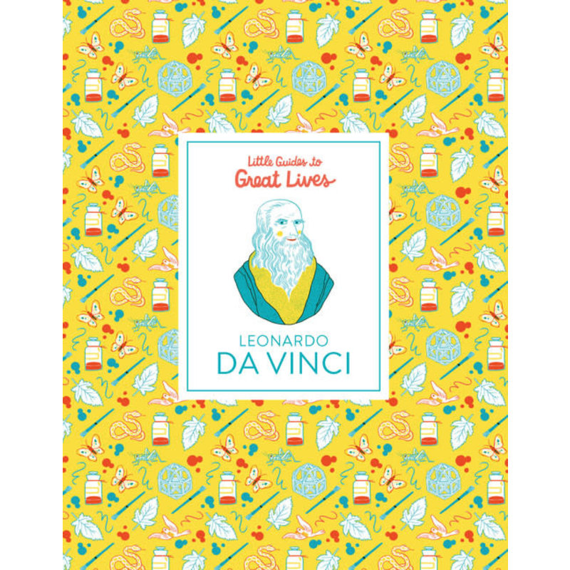 Laurence King Publishing Little Guides to Great Lives: Leonardo Da Vinci
