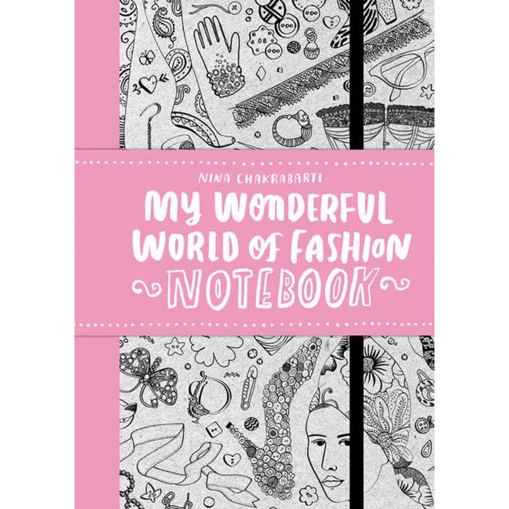 Laurence King Publishing My Wonderful World of Fashion Notebook
