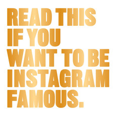 Laurence King Publishing Read This If You Want To Be Instagram Famous