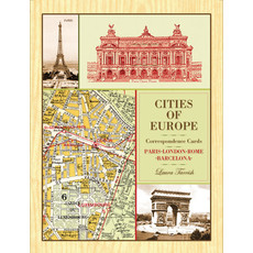 Chronicle Books Cities of Europe Correspondence Cards