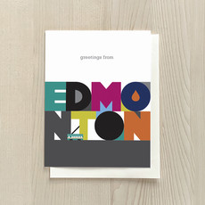 Vivid Print Edmonton Box Of Six Cards