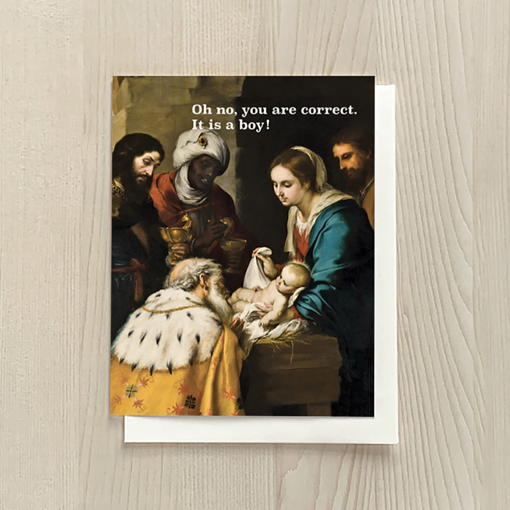 Vivid Print Correct Box Of Six Cards