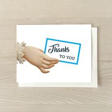 Vivid Print Thanks To You Box Of Six Cards