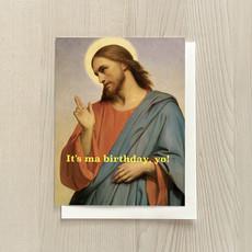 Vivid Print Birthday, Yo Box Of Six Cards