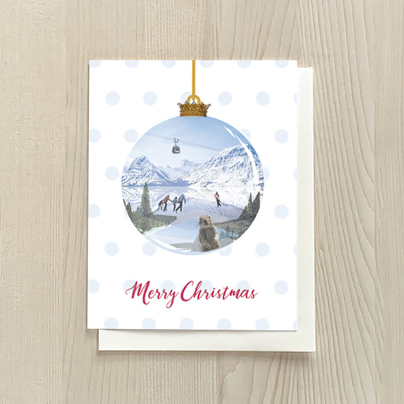 Vivid Print Ornament Box Of Six Cards
