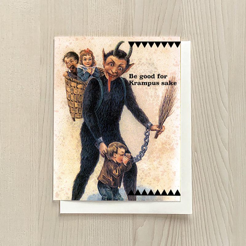 Vivid Print Krampus Sake Box Of Six Cards