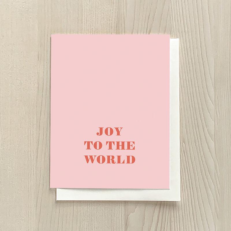 Vivid Print Joy To The World Box Of Six Cards