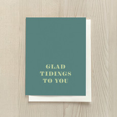 Vivid Print Glad Tidings Box Of Six Cards