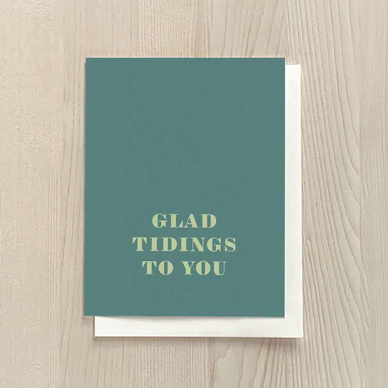 Vivid Print Glad Tidings Box Of Six Cards