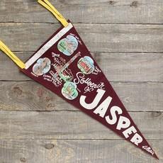 Vivid Vintage Vintage Jasper Pennant Burgundy