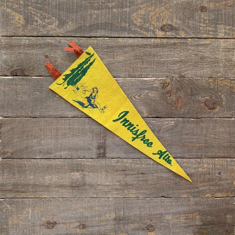 Vivid Vintage Vintage Innisfree Pennant Yellow