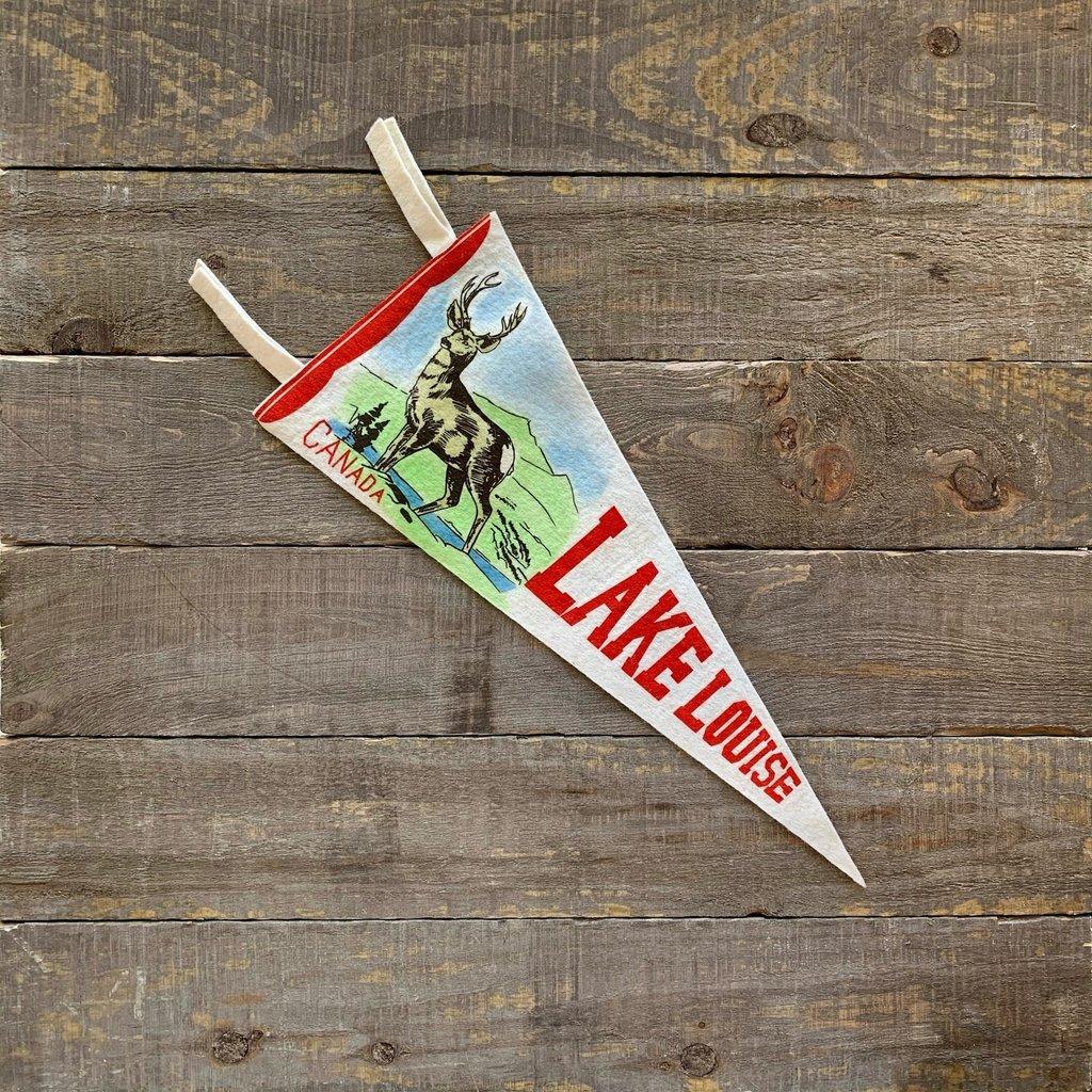 Vivid Vintage Vintage Lake Louise Pennant White
