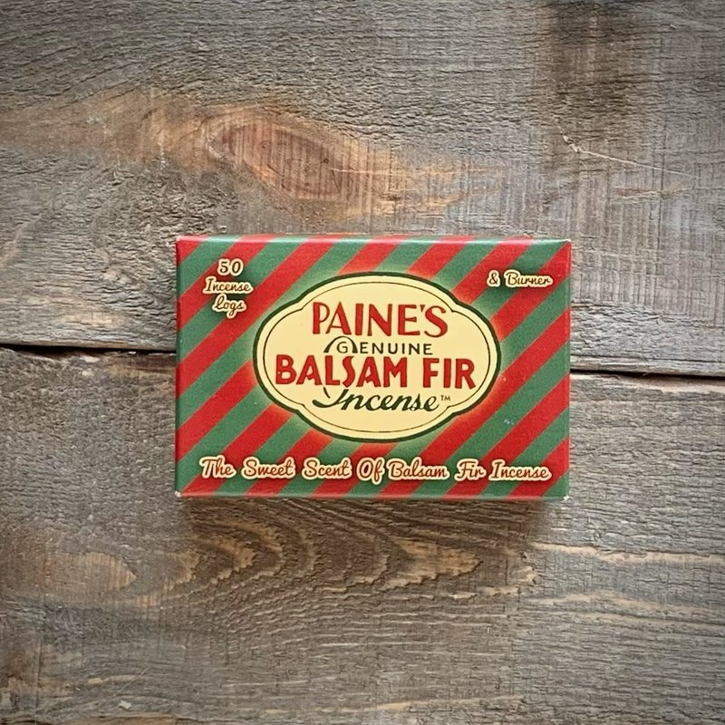 Paine's Balsam Incense Logs 50