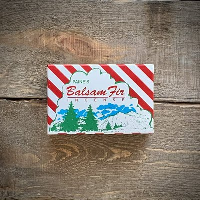 Paine's Balsam Fir Logs Incense 50