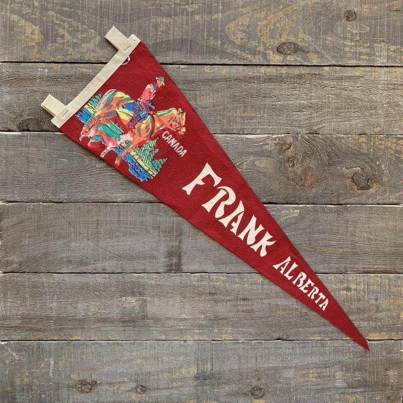 Vivid Vintage Vintage Frank Pennant Red