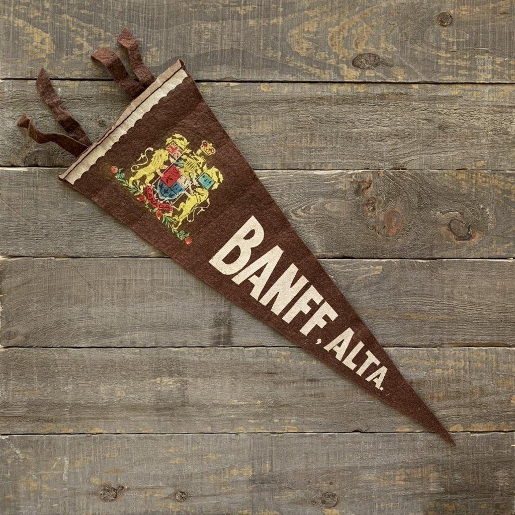 Vivid Vintage Vintage Banff Pennant Brown