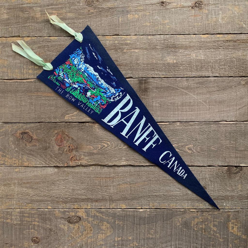 Vivid Vintage Vintage Jasper Park Pennant Blue