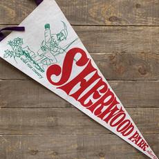 Vivid Vintage Vintage Sherwood Park Pennant White