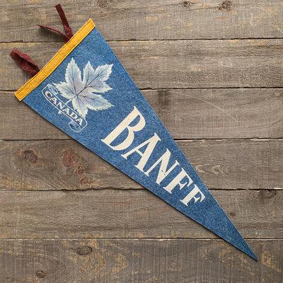 Vivid Vintage Vintage Banff Pennant Blue