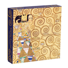 Galison Mudpuppy Klimt Expectation 500 Piece Puzzle