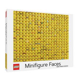 Chronicle Books LEGO Minifigure Faces Puzzle