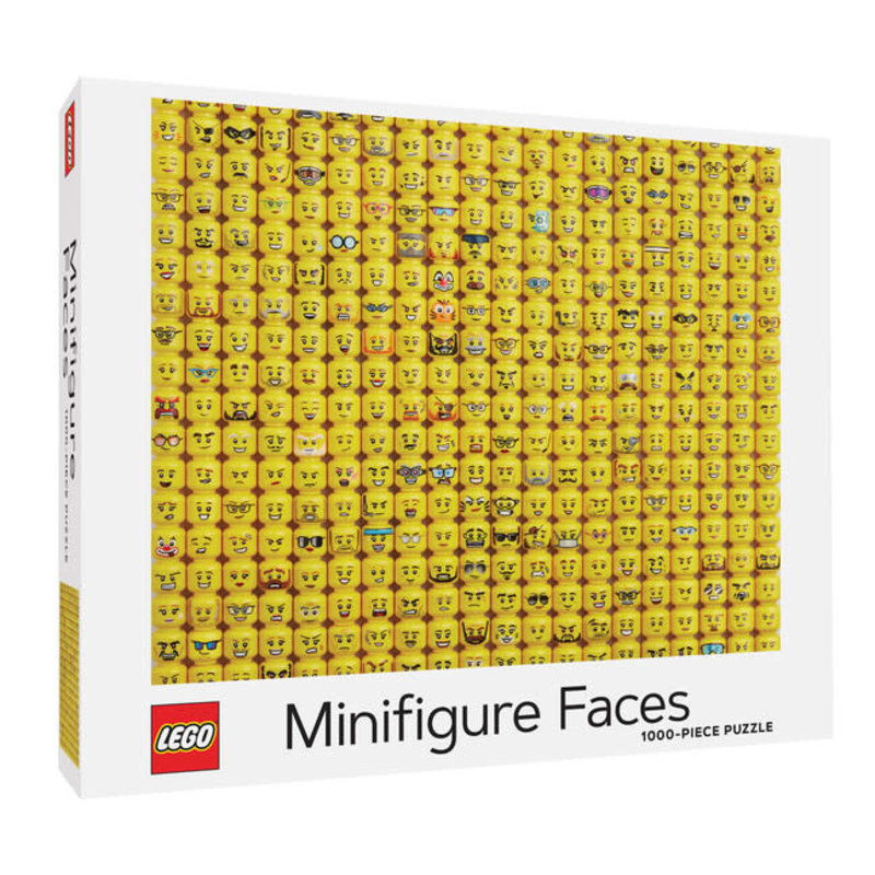 Chronicle Books LEGO Minifigure Faces Puzzle