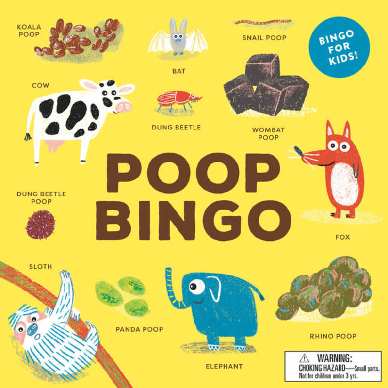 Laurence King Publishing Poop Bingo