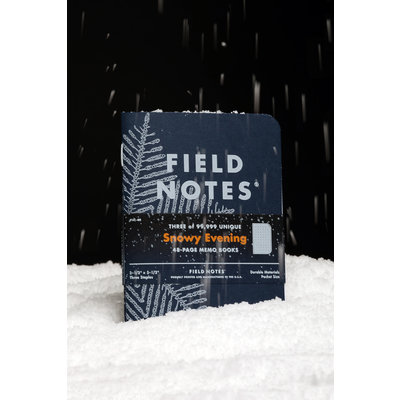 Field Notes Field Notes Snowy Evening Edition