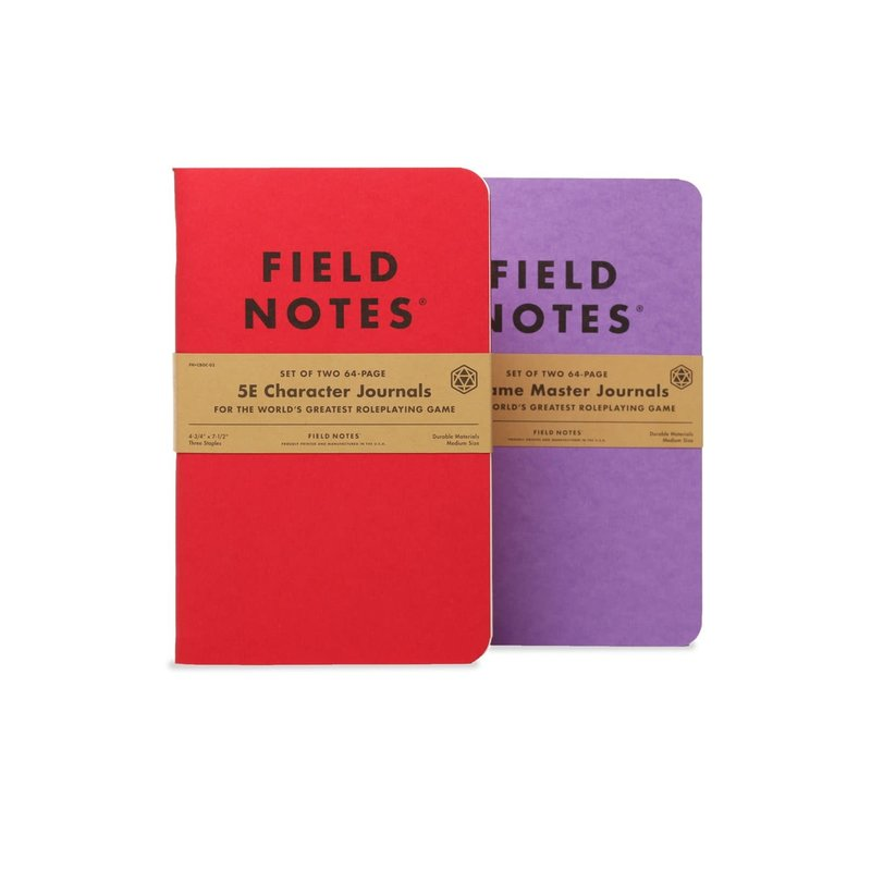 Field Notes Field Notes 5E Character Journal