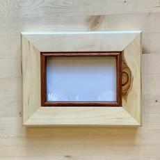 Vivid Print Live Edge Frame Poplar Frame