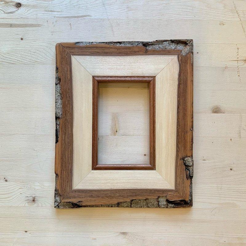 Vivid Print Live Edge Aspen Frame