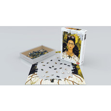 Eurographics Self-Portrait with Thorn Necklace and Hummingbird Jigsaw Puzzle
