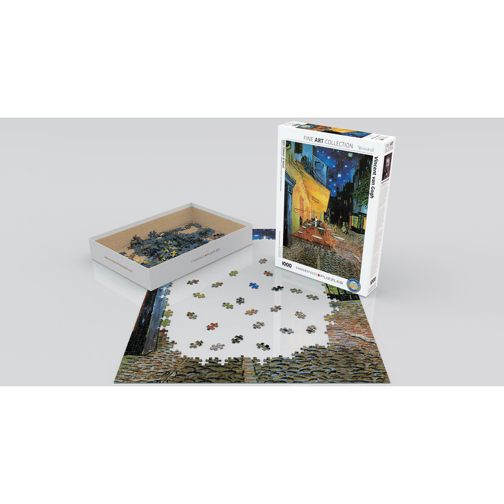 Eurographics Café Terrace at Night Jigsaw Puzzle