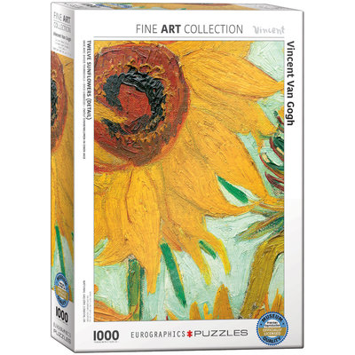 Eurographics Sunflower Jigsaw Puzzle