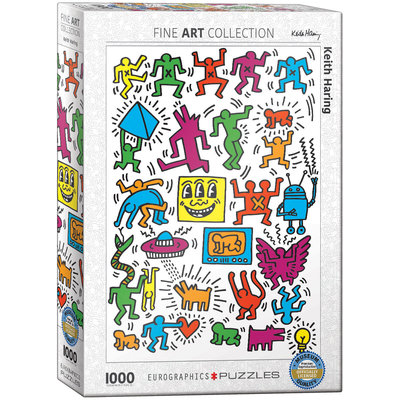Eurographics Keith Haring - Collage Jigsaw Puzzle