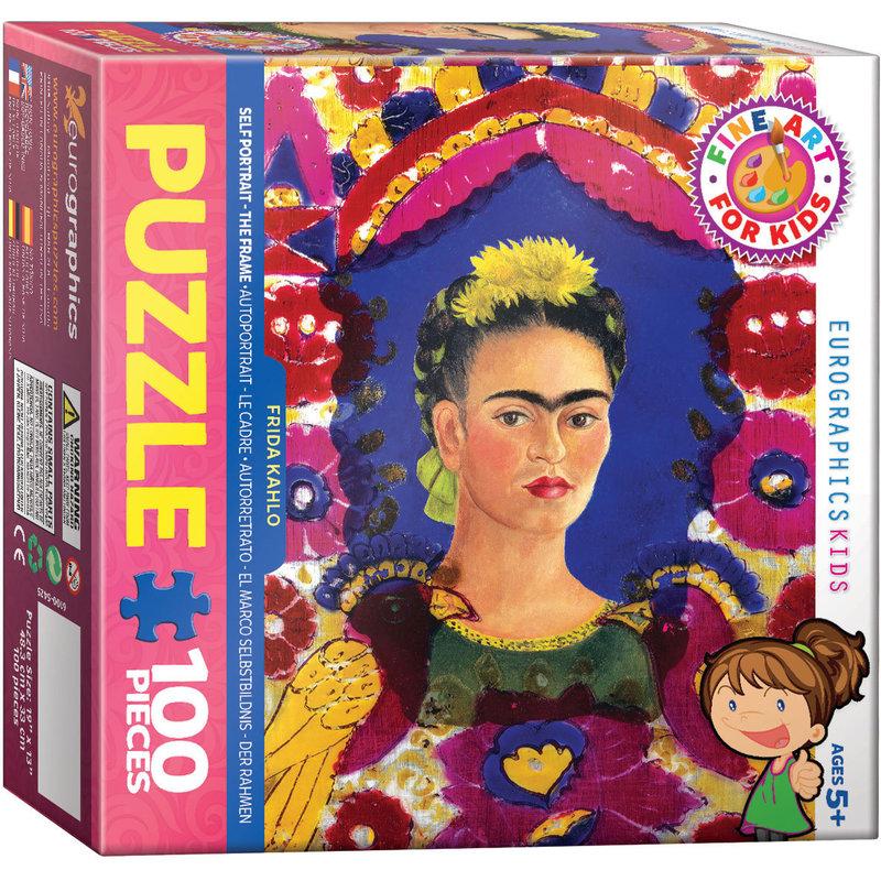 Eurographics Frida Kahlo - Self Portrait - The Frame Jigsaw Puzzle