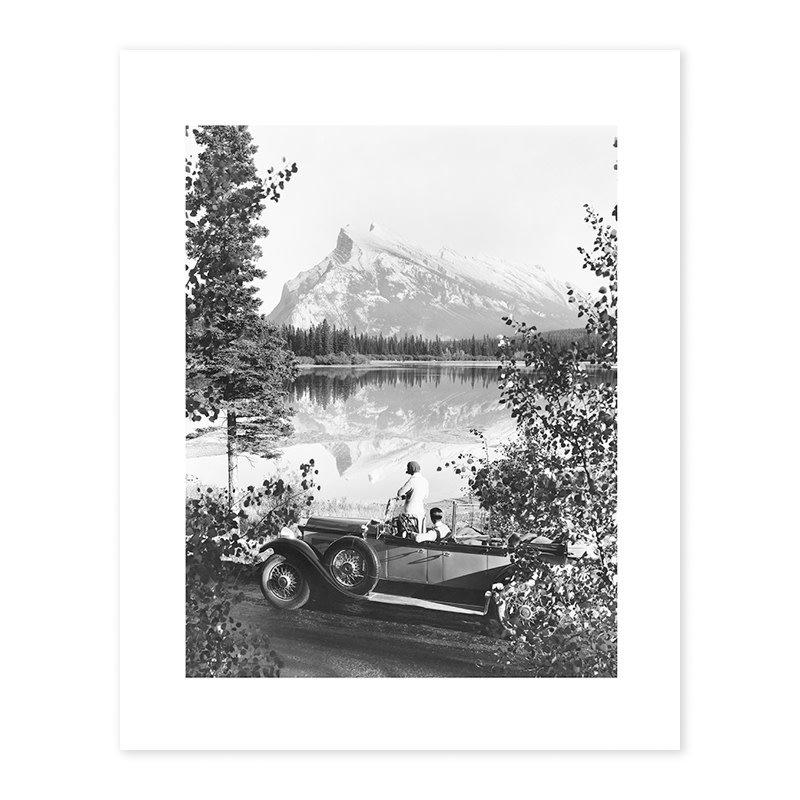 Vivid Archives Mount Rundle, 1928