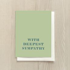 Vivid Print With Deepest Sympathy
