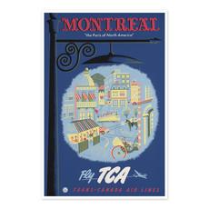Vivid Print Montreal, the Paris of North America