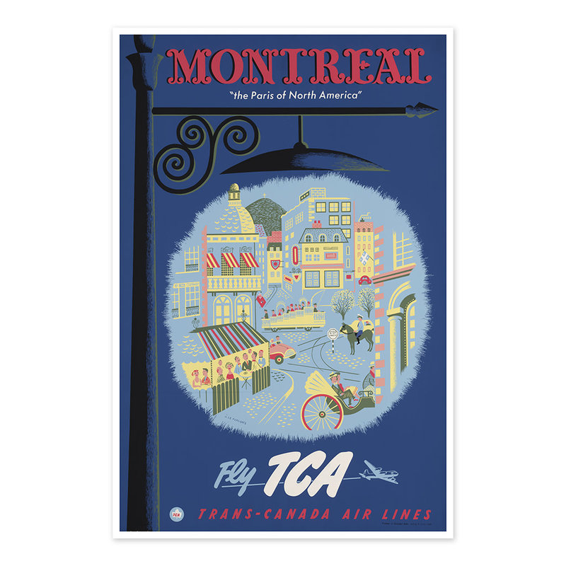 Vivid Print Montreal, the Paris of North America