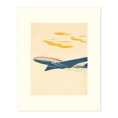 Vivid Print CP Plane Modern