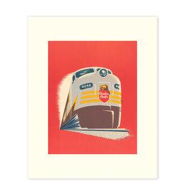 Vivid Print CP Train Modern