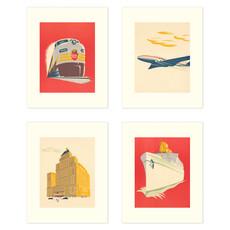 Vivid Print CP Modern Set of Four