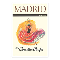 Vivid Print Madrid Canadian Pacific Airlines