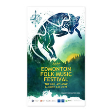 Vivid Print Edmonton Folk Music Festival 2021 Poster