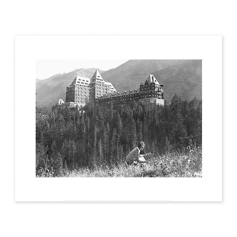 Vivid Archives Banff Springs Hotel, 1924