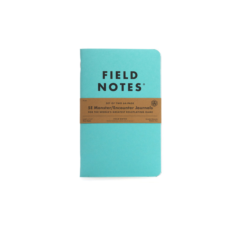 Field Notes Field Notes 5E Monster/Encounter Journal