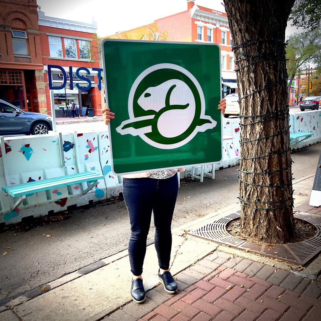 ATS Parks Canada Sign
