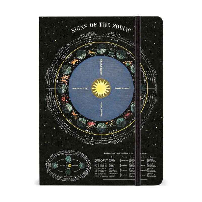 Cavallini Zodiac Large Notebook